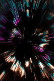 De samenvatting zoemde Kerstboom Royalty-vrije Stock Afbeelding