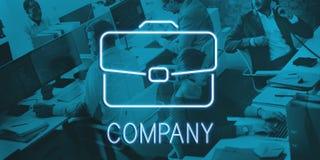 De Samenwerkingsconcept van de bedrijfsaktentas Vertrouwelijk Groei Stock Afbeeldingen