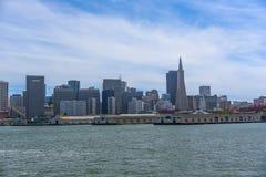 De San Francisco ciudad abajo Fotografía de archivo libre de regalías