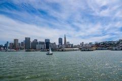 De San Francisco ciudad abajo Imágenes de archivo libres de regalías