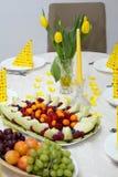 De sandwich van de ananas Stock Fotografie