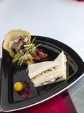 De Sandwich van de eisalade Stock Afbeeldingen