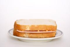 De sandwich van de ham stock afbeeldingen
