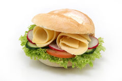 De sandwich van de kaas Stock Foto