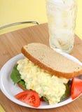 De Sandwich van de Salade van het ei Royalty-vrije Stock Foto