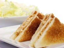 De sandwich van de tonijn Stock Afbeeldingen