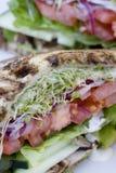De Sandwich van de tuin Stock Afbeeldingen