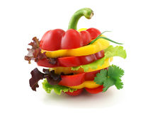 De sandwich van groenten. Royalty-vrije Stock Fotografie