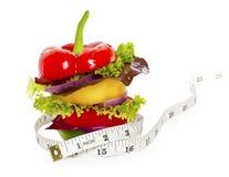 De sandwich van groenten Royalty-vrije Stock Afbeeldingen