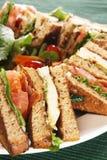 De sandwich van het clubhuis Stock Foto