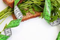 De sandwich van het dieet Stock Foto