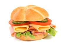 De sandwich van het dieet en geïsoleerdeo meterstudio Stock Afbeeldingen
