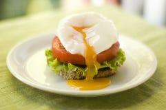 De sandwich van het ei Royalty-vrije Stock Afbeeldingen