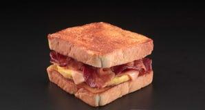 De sandwich van het ontbijt Stock Fotografie