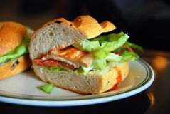 De Sandwich van het ontbijt Royalty-vrije Stock Afbeeldingen