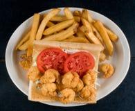 De sandwich van Poorboy Royalty-vrije Stock Foto