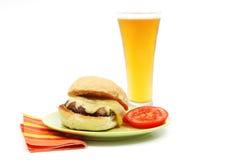 De Sandwich van Portabello Royalty-vrije Stock Afbeeldingen