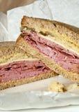 De Sandwich van Reuben royalty-vrije stock afbeeldingen
