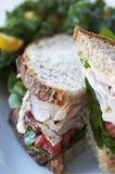 De Sandwich van Turkije Stock Afbeelding