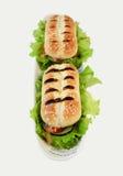 De sandwiches van Panini Royalty-vrije Stock Fotografie