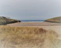 ` de Sandy Cornish Beach do ` fotos de stock royalty free