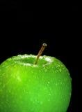 De sappige groene appel. Stock Afbeeldingen
