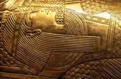 De sarcofaag van Tutankhamun stock foto