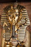 De sarcofaag van Tutankhamun stock foto's