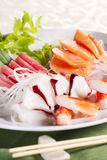 De sashimi van de mengeling Stock Afbeelding
