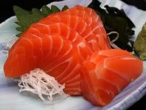 De Sashimi van de zalm Stock Afbeelding