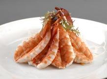 De sashimi van het voorgerecht Stock Foto