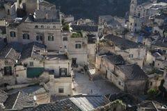 ` De Sassi de ` du ` s de Matera Photographie stock
