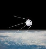 De satelliet van de spoetnik Stock Fotografie