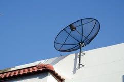 De SatellietSchotel van het huis Royalty-vrije Stock Foto's