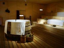 De sauna van de tsaar royalty-vrije stock afbeelding