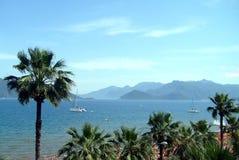 De scène Icmeler Turkije van het strand Stock Afbeelding