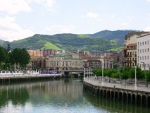 De scène van Bilbao royalty-vrije stock foto's