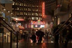 De scène van Blvd van Hollywood Stock Foto's