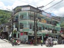 De scène van de Bontocstraat, Luzon, Filippijnen stock afbeelding
