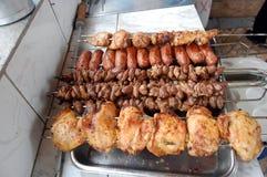 De Scène van de barbecue Royalty-vrije Stock Foto's