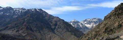 De scène van de berg royalty-vrije stock afbeelding