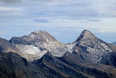 De scène van de berg royalty-vrije stock afbeeldingen