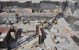 De Scène van de bouw Stock Afbeeldingen