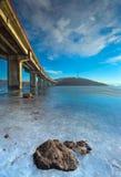 De scène van de brug royalty-vrije stock fotografie