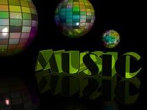 De scène van de disco Royalty-vrije Stock Fotografie
