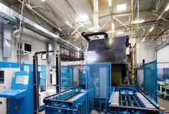 De scène van de fabriek stock afbeeldingen