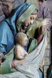 De Scène van de geboorte van Christus royalty-vrije stock fotografie