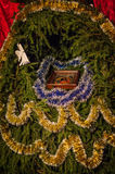 De scène van de geboorte van Christus royalty-vrije stock afbeeldingen