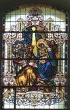 De Scène van de geboorte van Christus, Bewondering van Magi Royalty-vrije Stock Foto's