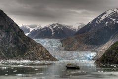 De scène van de gletsjer Stock Foto's